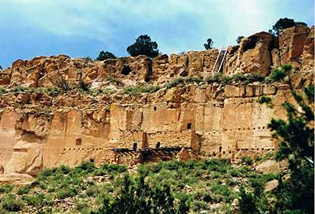 Puye Cliff Dwellings - New Mexico